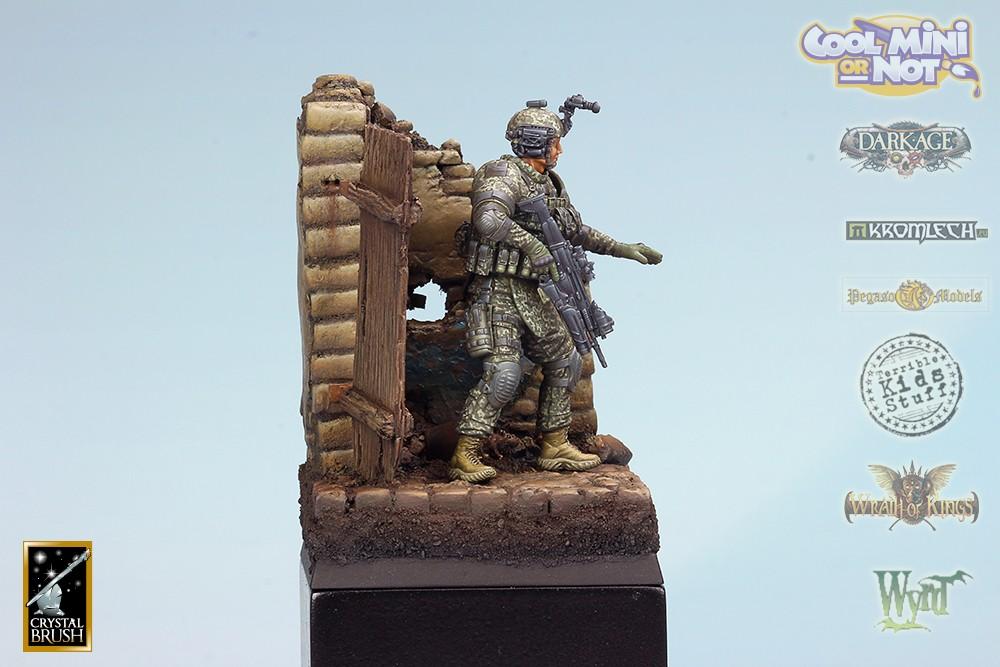 Modern US Army Soldier