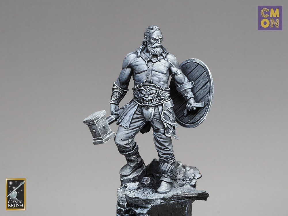 Black and White Barbarian